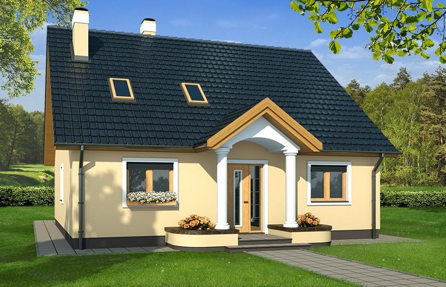 Projekty domów, ekonomicznych w utrzymaniu