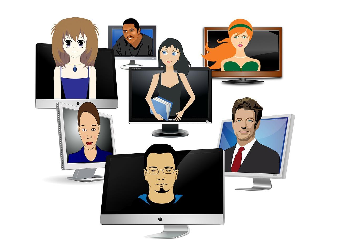 Nowe znajomości przez Internet